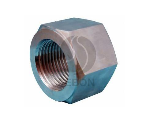 Lager nut for excavator