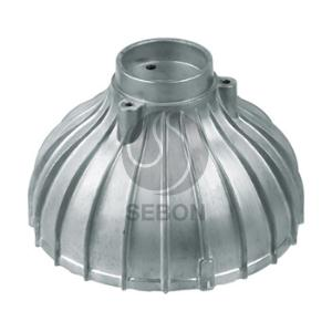 China die casting aluminium alloy lighting components manufacturers