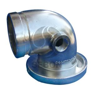 Advanced process pipeline valve coupling parts